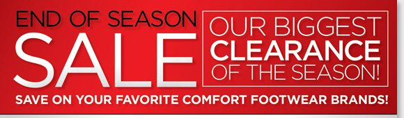 Find NEW markdowns on over 130 UGG® Australia styles for the entire family and save big during our End of Season Sale! Plus, save on more great styles from your favorite comfort brands including Dansko, ECCO, Raffini, ABEO, Thad Stuart and more! Shop now to find the best selection at The Walking Company's nationwide stores or online at www.thewalkingcompany.com.