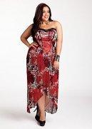 Pleated Animal Print Dress
