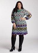 Web Exclusive: Pattern Print Dress