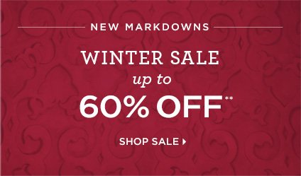 New Markdowns Up To 60% Off**  Shop Sale