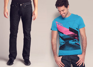 Men's Shop - Tees & Denim