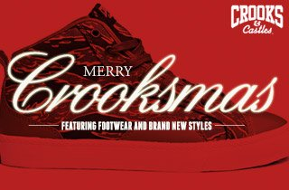Merry Crooksmas: Featuring Footwear and Brand New