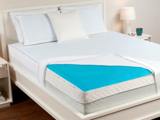 All Sizes Now Available! Hydraluxe Always Cool Gel Mattress Pad from Tony Horton