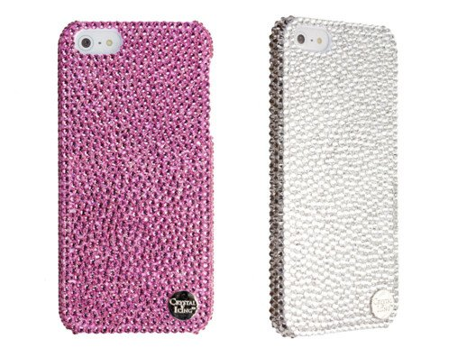 Each crystal case is handmade by the design team at Crystal Icing using over 1,000 Swarovski Crystal Elements.