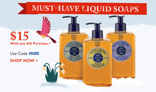 MUST-HAVE Liquid Soaps