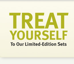 treat yourself to our  limited-edition starter sets.