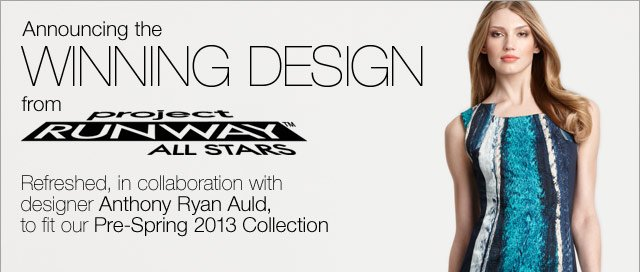 Announcing Winning Design from Project Runway All Stars