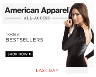 Shop American Apparel: Bestsellers
