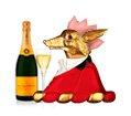Mr.Fox is still celebrating!