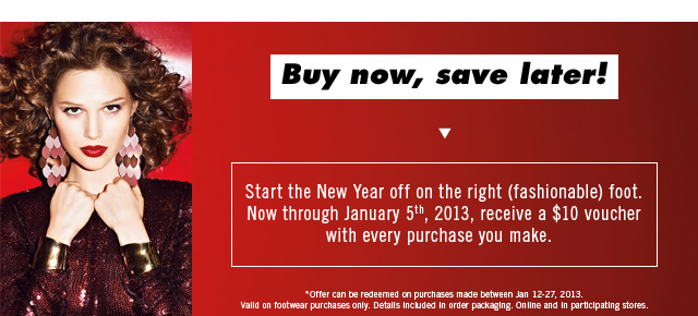Buy now, save later!