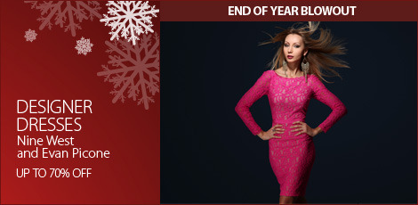 designer dresses- nine west and evan picone