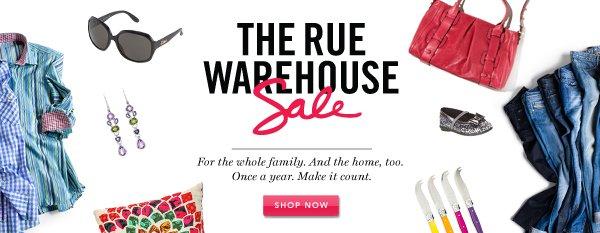 Warehouse Sale. Shop Now.