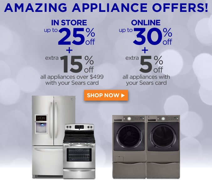 AMAZING APPLIANCE OFFERS! | SHOP NOW