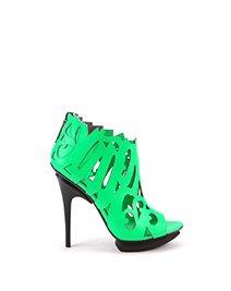 Calligraffiti Shoe | Neon Green