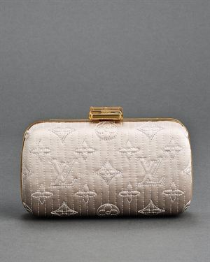 Louis Vuitton Minaudiere Motarde Perle Box Clutch