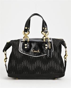 Brand New Coach French Pleat Handbag
