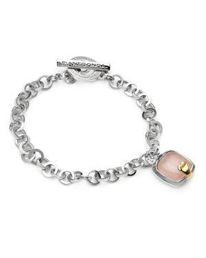 Pianegonda Sterling Rose Quartz Bracelet $319