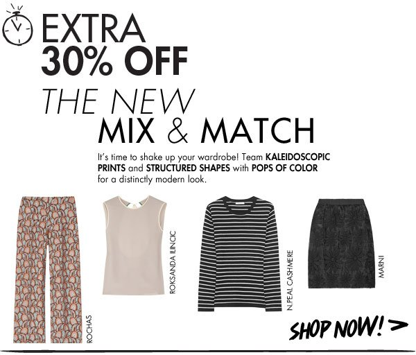 The mix and match look