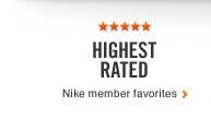 HIGHEST RATED | Nike member favorites