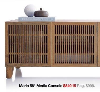 Marin 58 in. Media Console
