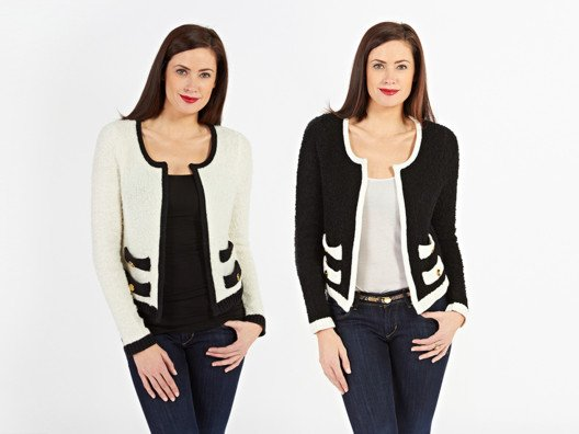 Some pieces are staples for a reason, and a fantastic black and white jacket truly is a must-have.