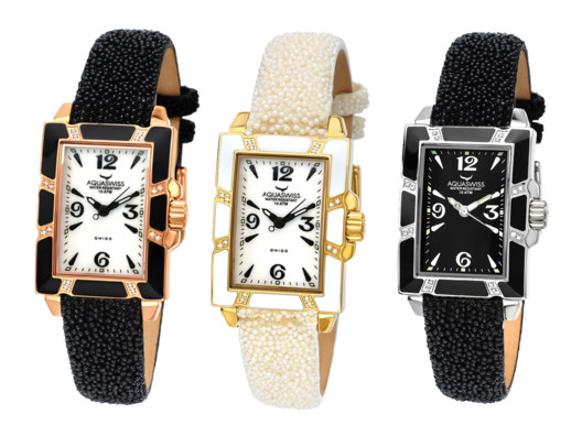 With its 16 points of brilliant diamante on the face and its classic art deco motif, this is piece is, well, timeless.