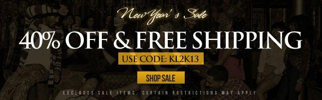 40% Off + Free Ship! Shop Sale Now!