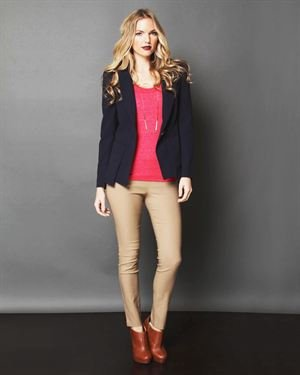 Lumiere Button Blazer $45