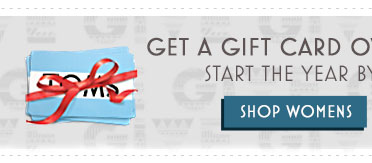 Get a gift card over the holidays? Start the year by giving back. Shop Women's.