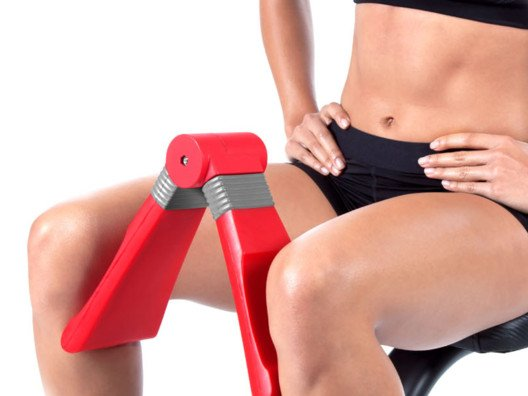 Squeeze to achieve ultimately toned thighs