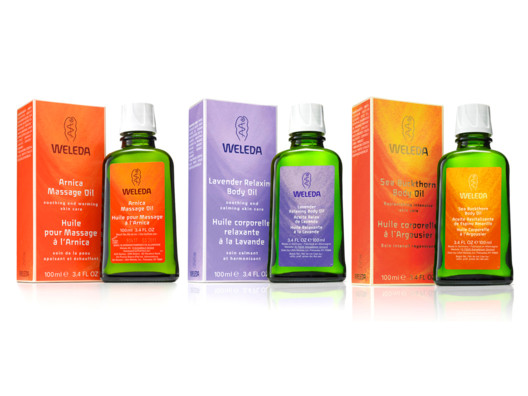 Weleda Body Oils from The Beauty Closet