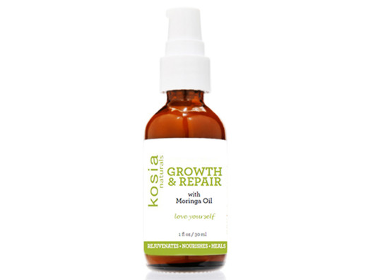 This organic hair serum is such a lush treatment for your strands. It rejuvenates and repairs and makes your hair feel so soft.