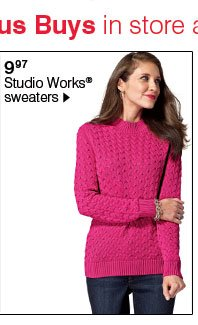 9.97 Studio Works® sweaters