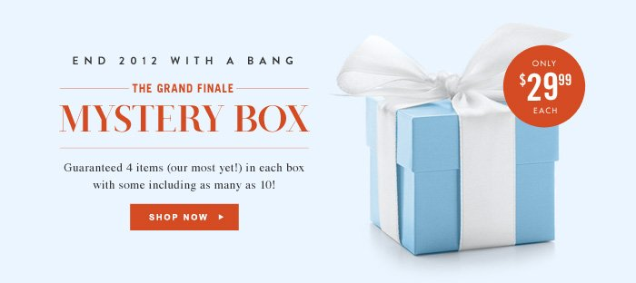 The Grand Finale Mystery Box