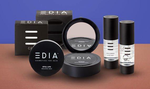 EDIA Cosmetics for Hair   - Visit Event