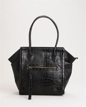 Tosca Croc Embossed Tote Bag