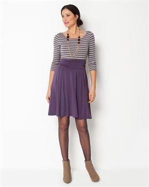 Taifun Flounced Skirt