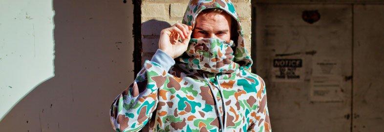 Shop New ARSNL ft. the Camo Ninja Hoodie