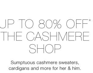 Up To 80% Off* The Cold Weather Shop