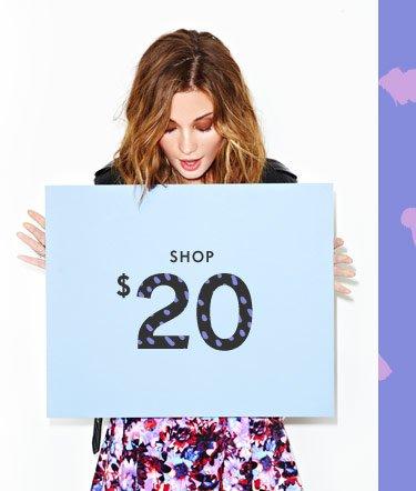Shop $20