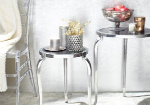 Marble & Mirror Furnishings from Zanzi
