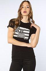 The ASVP Flag Tee in Black
