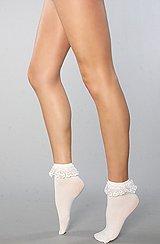 The Prissy Lace Ruffle Socks