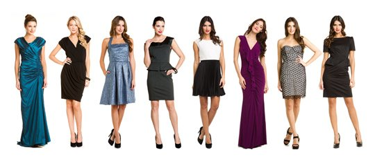 Perfectly Paired:Party Dresses & Flashy Pumps
