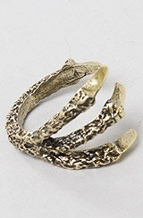 The Tear it Up Claw Ring in Gold