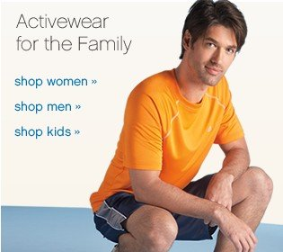 Activeware for the Family.