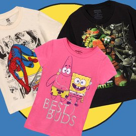 Cast of Characters: Kids' Tees