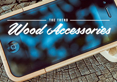 Shop The Trend: Wood Accessories