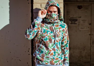 Shop New ARSNL ft. the Camo Ninja Hoodie