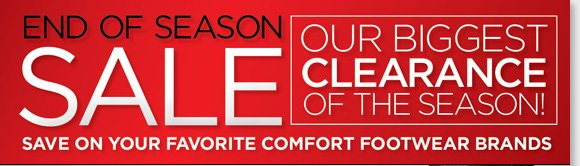 Shop our biggest clearance of the season and save up to 40% on Dansko during our End of Season Sale! Get your favorite styles including Pros for $99, and the ProXP for $119! Plus, save on more great styles from your favorite comfort brands including ECCO, Raffini, ABEO and more! Shop now to find the best selection at www.thewalkingcompany.com.